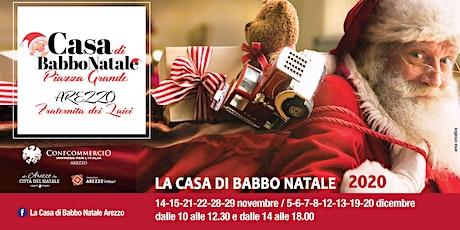 La Casa di Babbo Natale Arezzo biglietti
