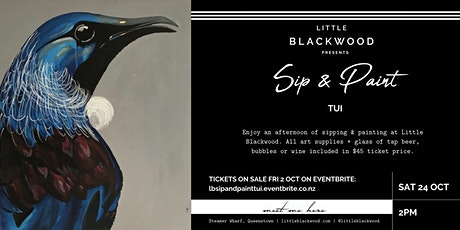 Sip & Paint: Tui at Little Blackwood, Queenstown tickets
