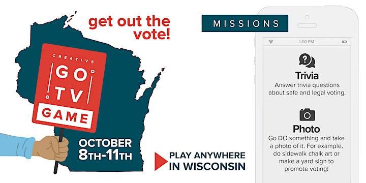 WI Get-Out-The-Vote Scavenger Hunt image