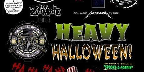 Heavy Halloween! Rob Zombie And Metallica Tribute Night! tickets
