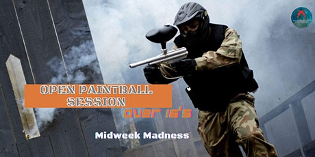 Open Paintball Session tickets