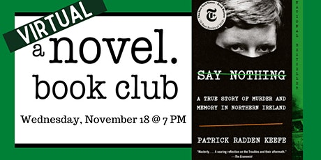 A Novel Book Club: Say Nothing tickets