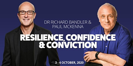 Dr Richard Bandler & Paul McKenna | Resilience, Confidence and Conviction tickets