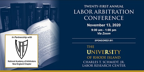 21st Annual Labor Arbitration Conference tickets