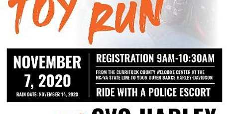 12th Annual Currituck County Sheriff's Toy Run tickets