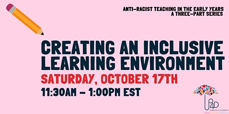 Anti-Racist Teaching in the Early Years: a three-part series tickets