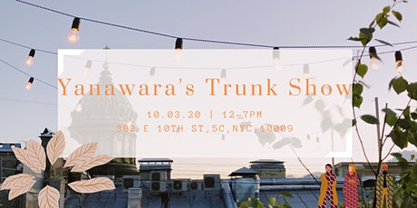 Yanawara's outdoors trunk show! tickets