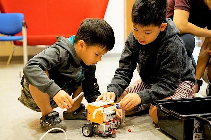 Innovation Junior Camp (6-9 years) | Mon-Fri, 10:00 AM-4:00 PM image