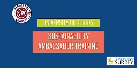 University of Surrey Sustainability Ambassador Training tickets