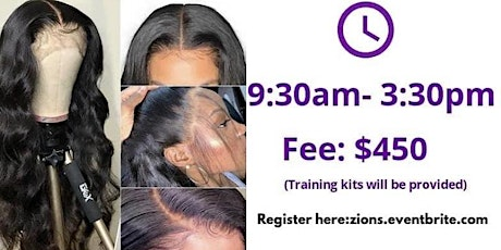 HANDS ON WIG MAKING CLASS tickets