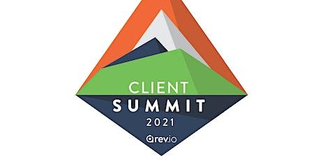 Rev.io Client Summit 2021 tickets