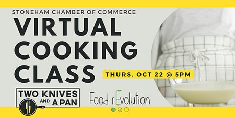 Virtual Cooking Class with Two Knives and a Pan tickets
