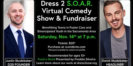 Dress2Soar - Virtual Comedy Show & Fundraiser tickets