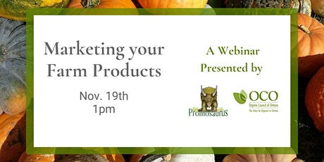 Marketing Your Organic Farm Products tickets