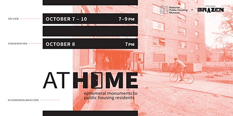 At Home: Ephemeral Monuments to Public Housing Residents tickets