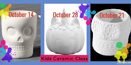 Kids Ceramic Class tickets