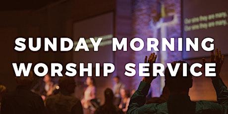 Sunday Morning Service   October 4th tickets