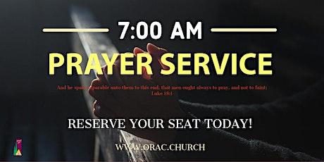 Saturday Morning Prayer - October 3rd tickets