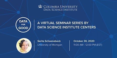Data for Good: Sarita Schoenebeck, University of Michigan tickets