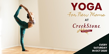 Yoga For New Moms @ CreekStone Academy East Lake/Atlanta tickets
