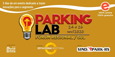 Fórum Regional Parking LAB (Sul / 2020) ingressos