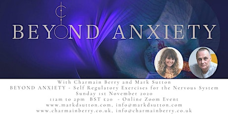 Beyond Anxiety: Self Regulatory exercises for the Nervous System tickets