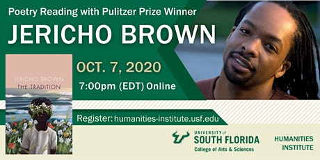 Poetry Reading with Pulitzer Prize Winner, Jericho Brown tickets