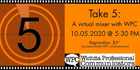 RSVP for Take 5, A Virtual WPC Mixer on October 5! tickets