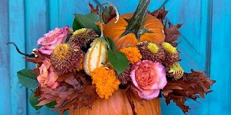Create a Pumpkin Floral Centerpiece Workshop tickets