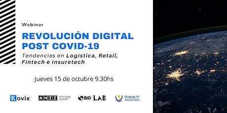 WEBINAR: Revolución Digital post COVID-19 boletos