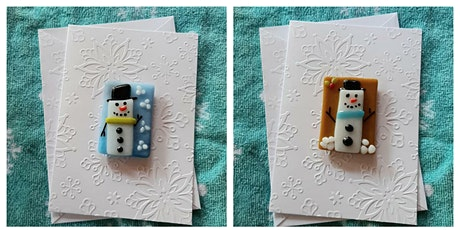 Snowmen (2) Greeting Card Magnets Workshop Garden City tickets
