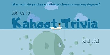 Kahoot Trivia tickets
