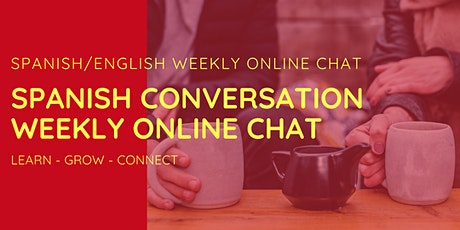 Spanish Conversation Weekly Online Chat tickets