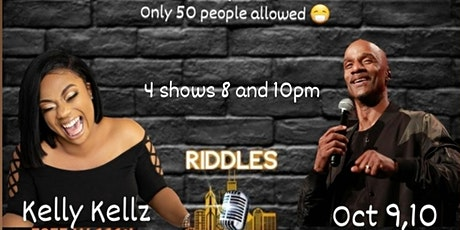 Damon Williams Presents Comedy Series at Riddles  w Kelly Kellz tickets