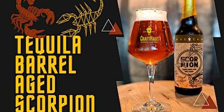 Tequila Barrel Aged Scorpion tickets