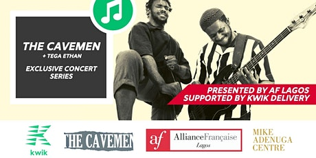 THE CAVEMEN LIVE ON STAGE @ ALLIANCE FRANCAISE LAGOS / MIKE ADENUGA CENTRE tickets