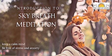 An Introduction to SKY Breath Meditation Washington DC tickets