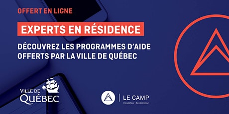 Découvrez les programmes d'aide offerts par la Ville de Québec billets
