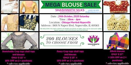 Mega Blouse Sale 24th Oct 2020 tickets