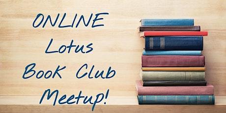 Online Lotus Book Club Meetup tickets