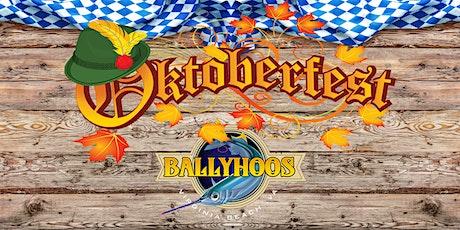 Oktoberfest 2020 at Ballyhoos tickets