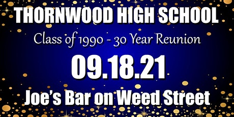 TWHS Class of 1990 - 30 Year Reunion tickets