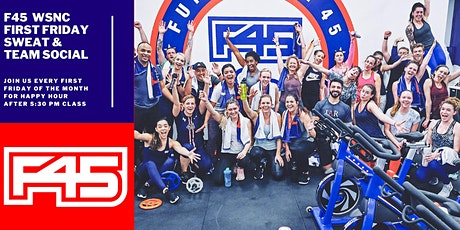 F45 WSNC FIRST FRIDAY SWEAT AND SOCIAL tickets