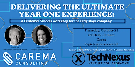 Delivering the Ultimate Year 1 Experience: A Customer Success Workshop tickets