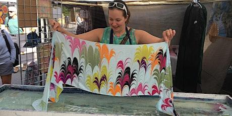 Create a Silk Scarf, SIP & DIP Workshop- PLANET BEE HONEY FARM tickets