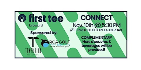 First Tee - Broward CONNECT tickets