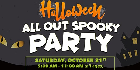 Halloween All Out Spooky Party tickets
