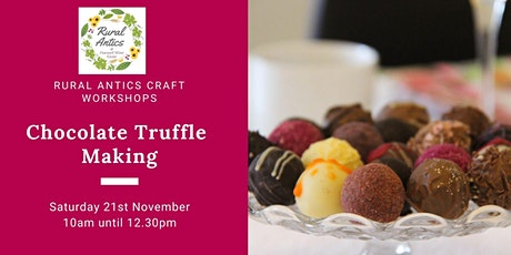 Chocolate Truffle Making Experience tickets