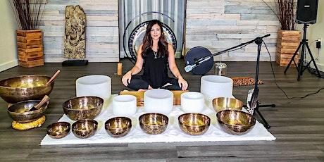 Sound Bath Meditation with Kelly Kelita tickets
