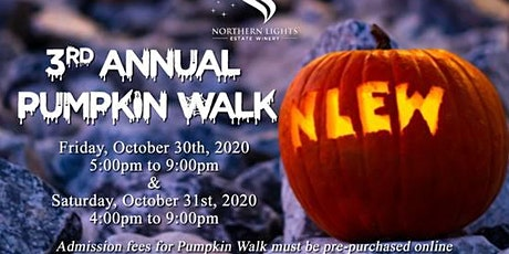 3rd Annual Pumpkin Walk tickets